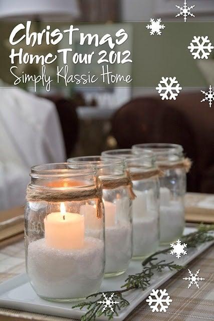 Social media image of Christmas Home Tour 2012