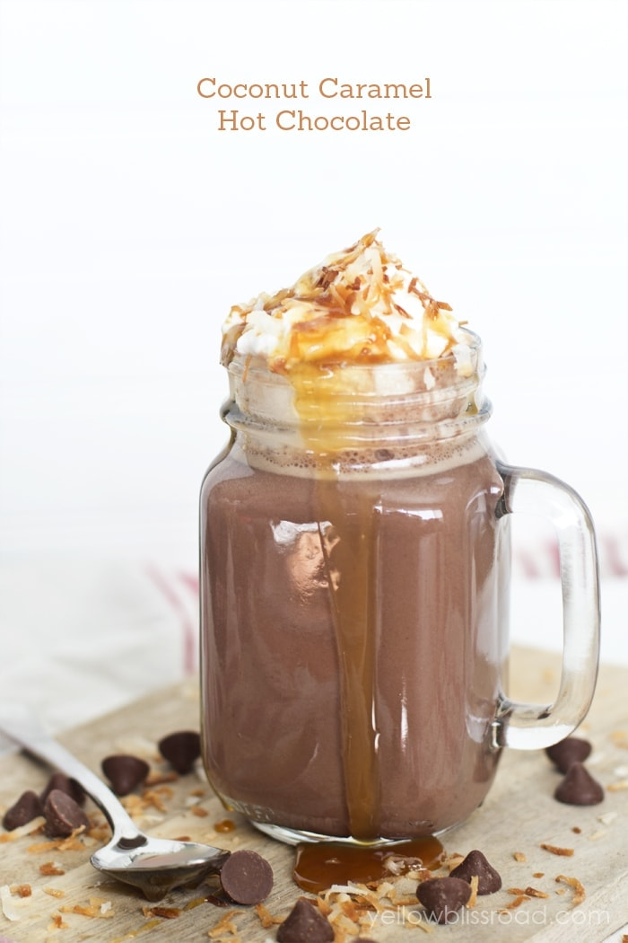 Samoa Hot Chocolate
