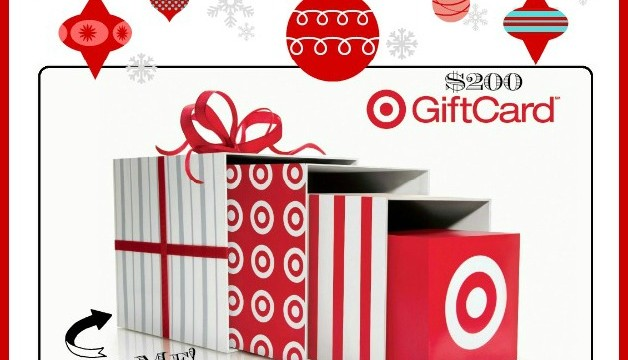 $200 Cash or Target Card Trim the Tree Giveaway!!!