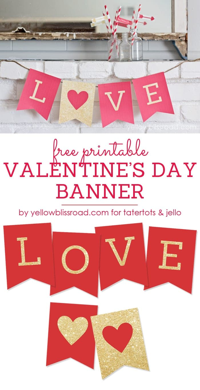 image relating to Printable Valentine Picture named 35 Cost-free Printable Valentines - Yellow Bliss Highway