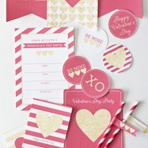 Printable Valentine's Day Party  Bundle