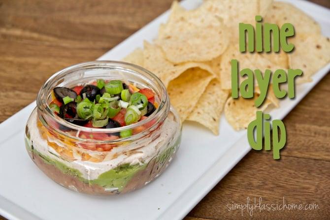Social media image of Nine Layer Dip