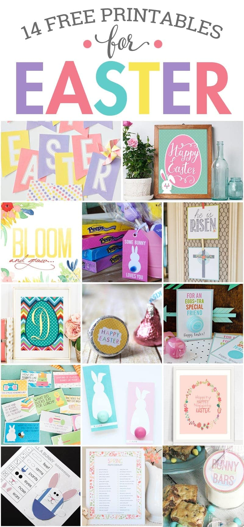 14 Free Printables for Easter