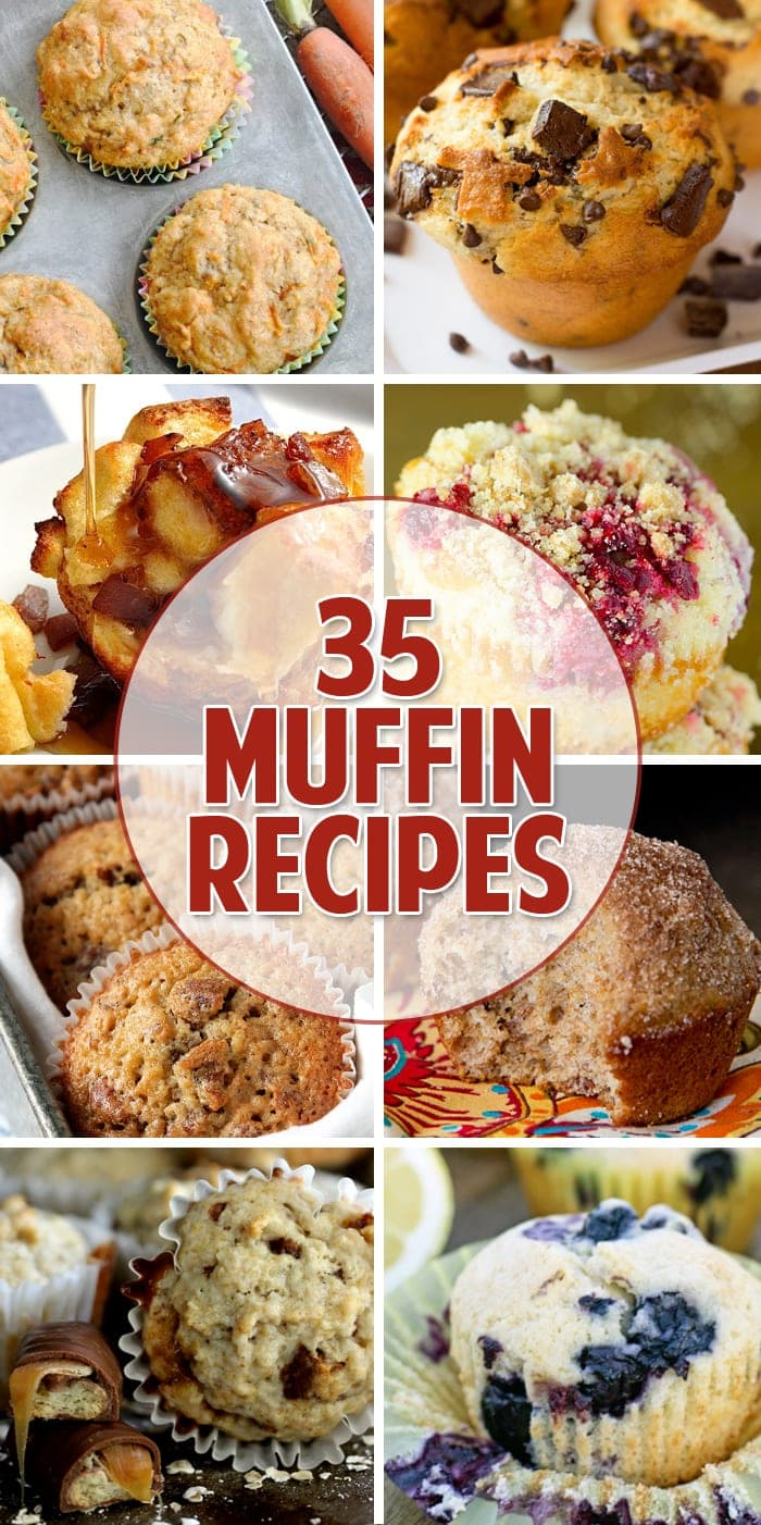35 Muffin Recipes