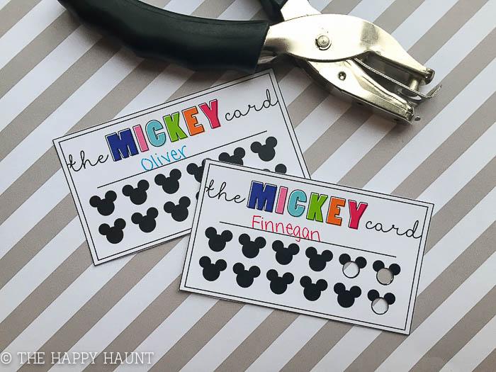 YBR Mickey Card