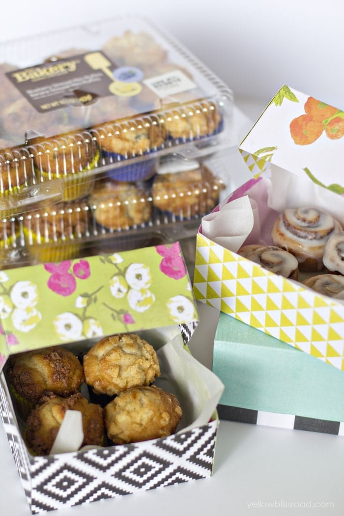 Bakery Treats and DIY Gift Boxes