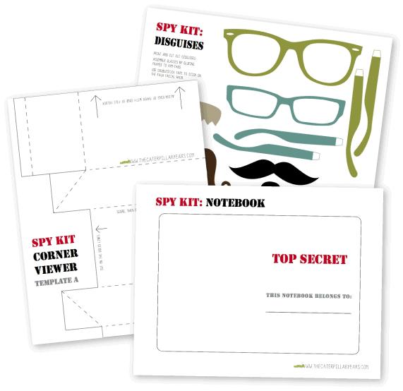 Free Printable Spy Kit