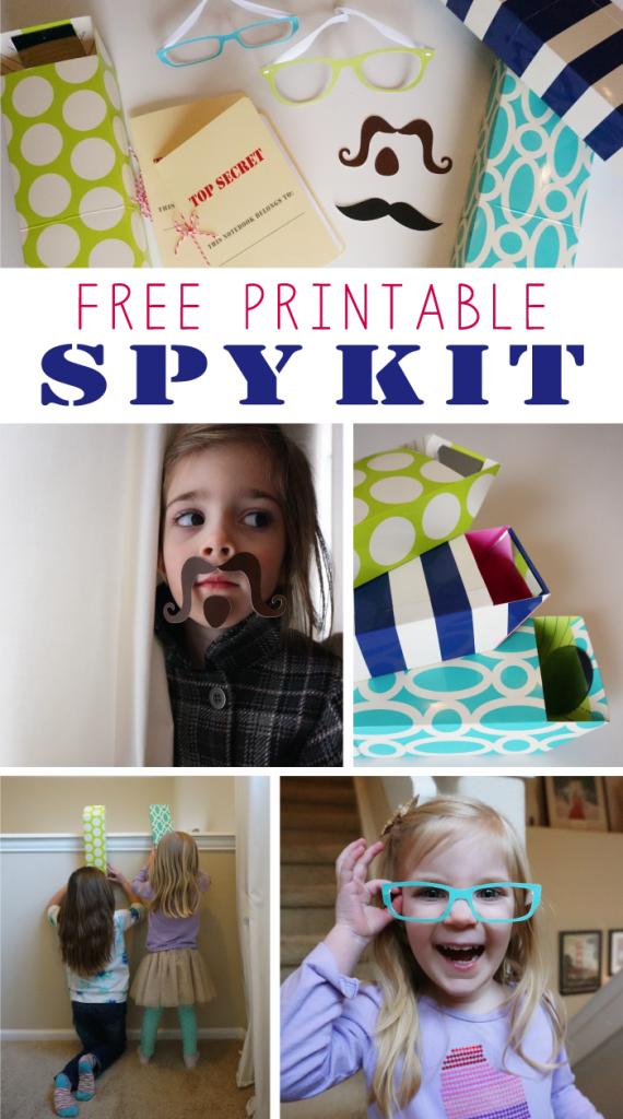 Free Printable Spy Kit for Kids