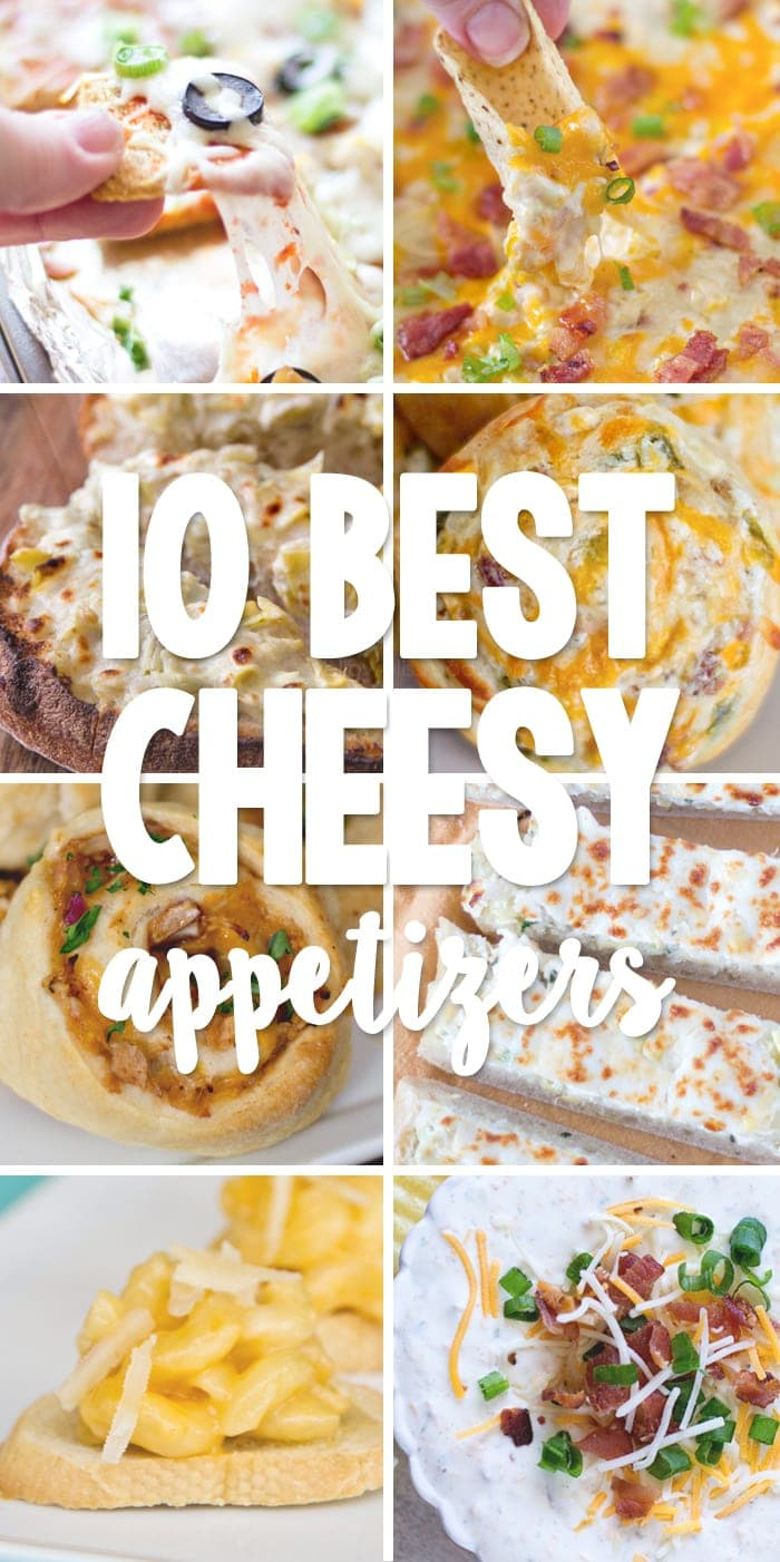 10 Best Cheesy Appetizers