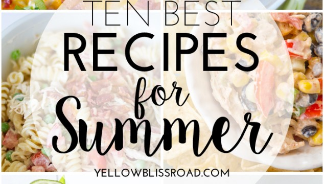 120+ Summer Recipes
