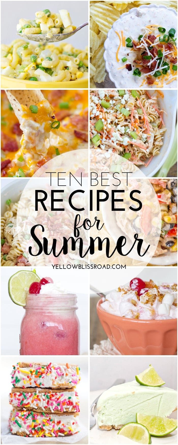 10 Best Recipes for Summer