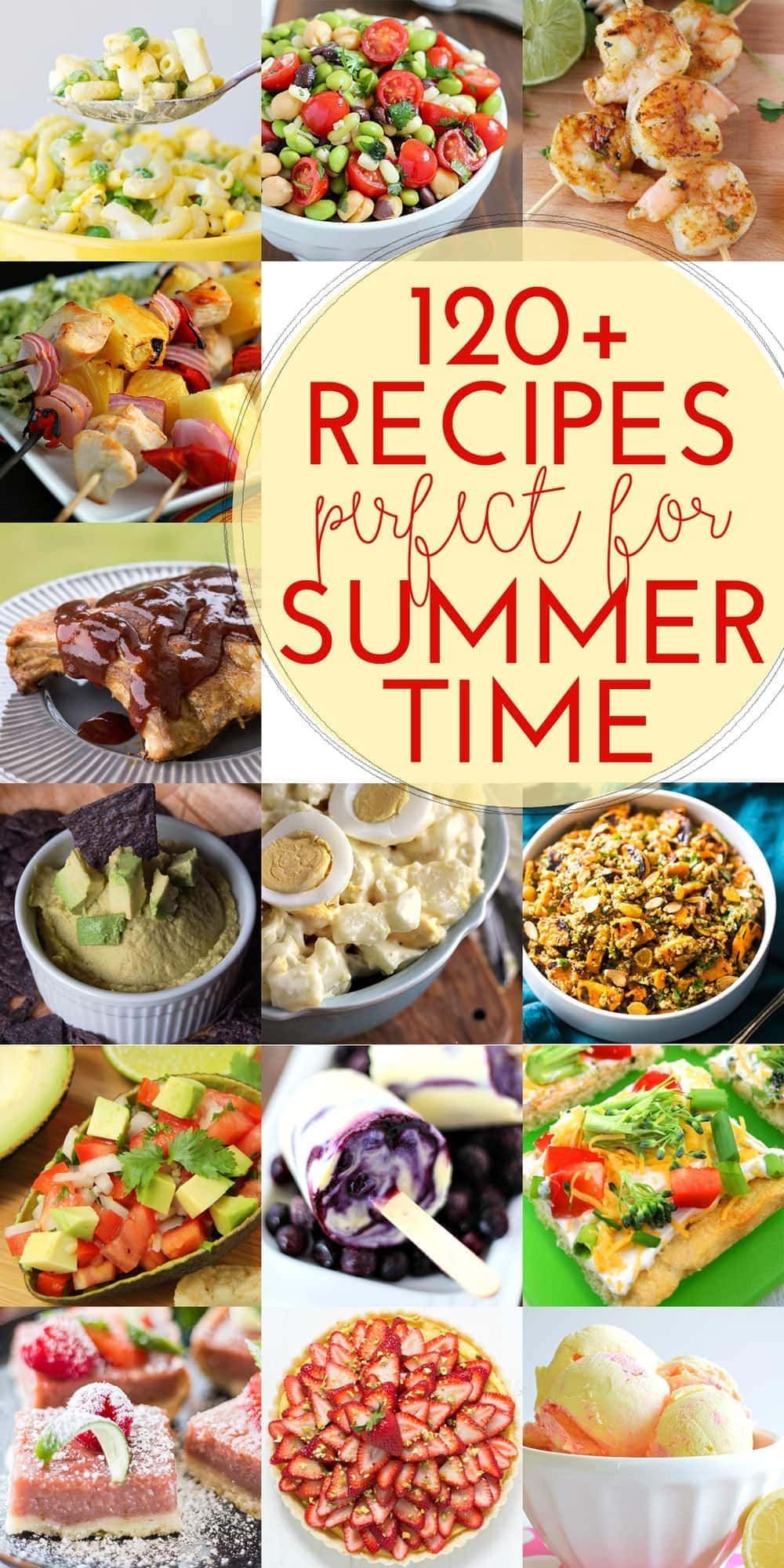 120+ Recipes for Summer