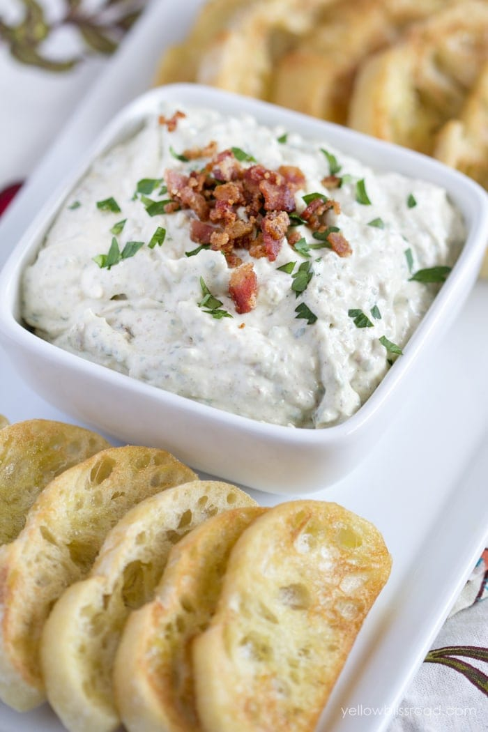Carmelized Onion Goat Cheese Dip
