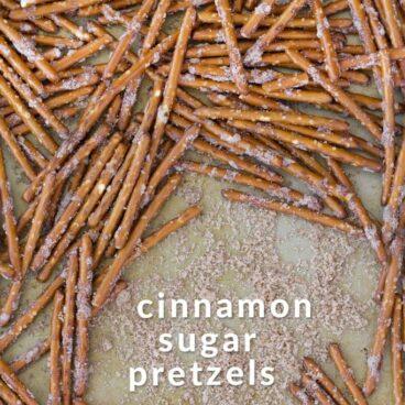 Social media image of Cinnamon Sugar Pretzels