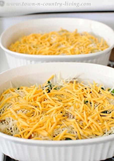 Spinach and Mushroom Egg Casserole