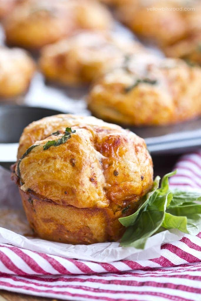 Pizza Pull Apart Muffins 3