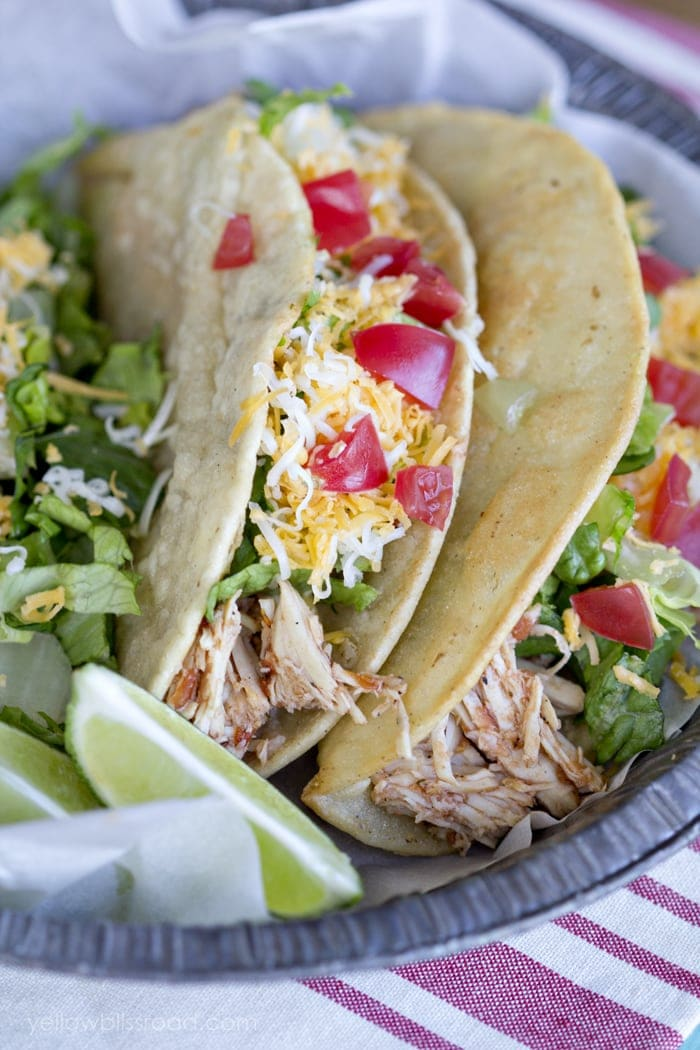 Slow Cooker Chicken Tacos 2