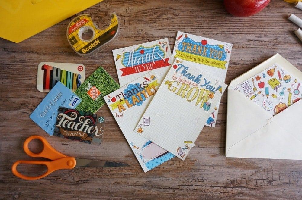 Teacher Gift Card Printables - 3 of 17