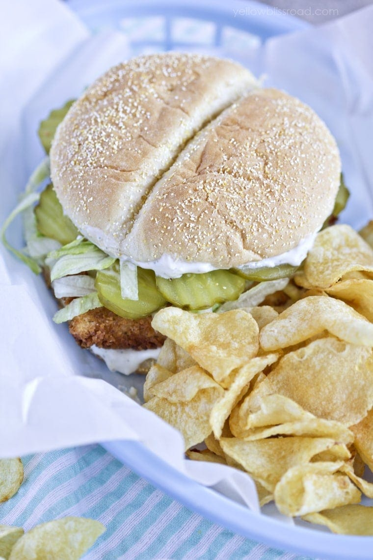 Crispy Dill Chicken Sandwich
