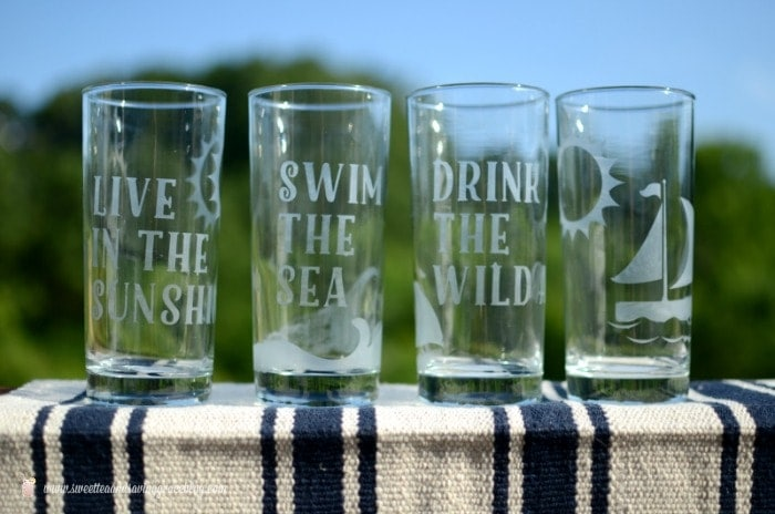 Summer Glassware Set  | Sweet Tea & Saving Grace