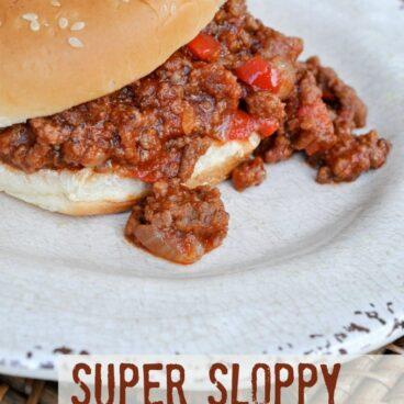 Social media image of Super Sloppy Joes