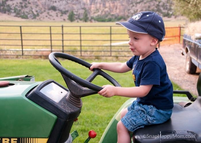 TractorDrivingDavid