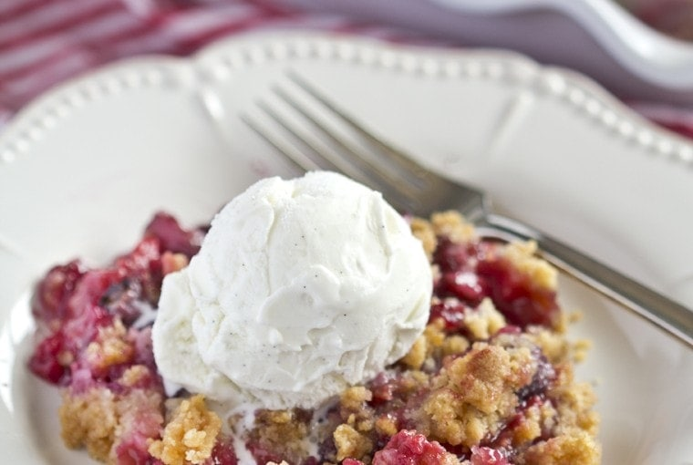 Triple Berry Sugar Cookie Cobbler