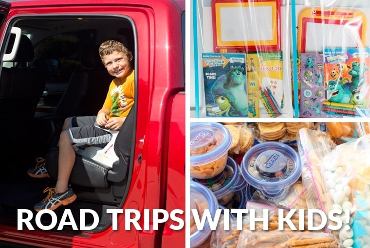 How to Survive a Road Trip with Your Kids