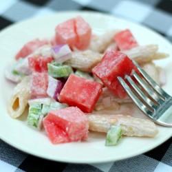 Watermelon Pasta Salad