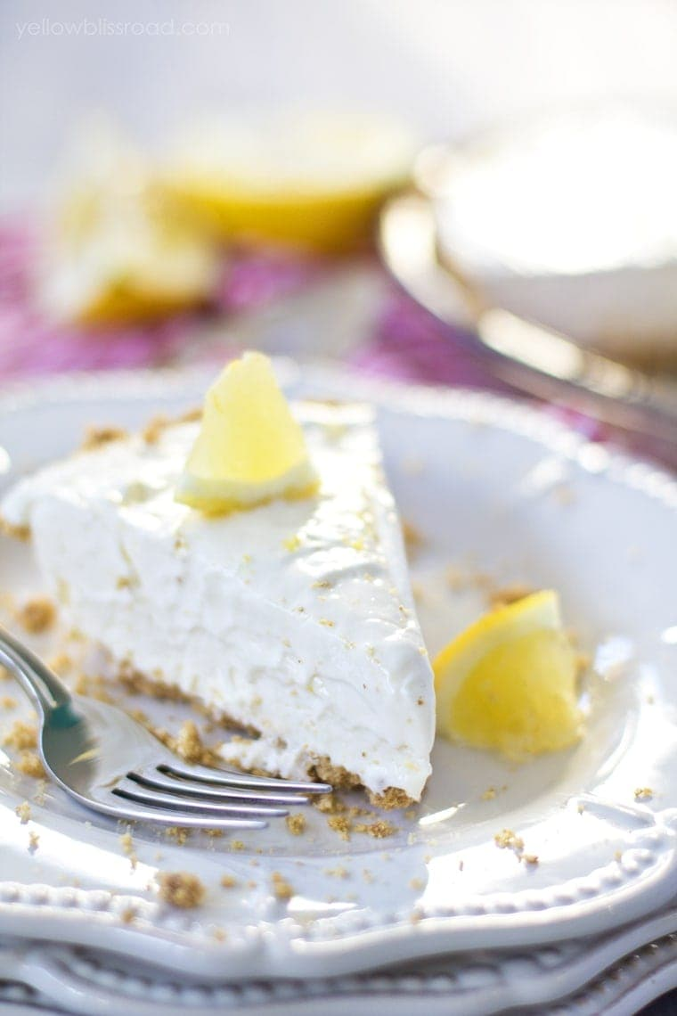 Frozen Lemon Cheesecake