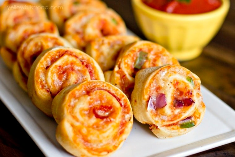 Yummy Pizza Pinwheels