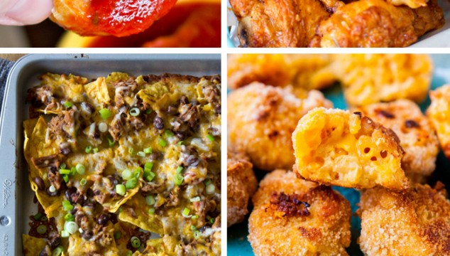 50 BEST Appetizers - Dips and Hand Held Snacks
