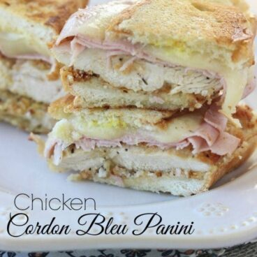 Social media image of Chicken Cordon Bleu Panini