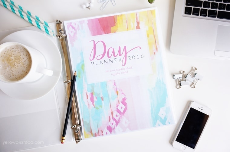 Ikat day planner