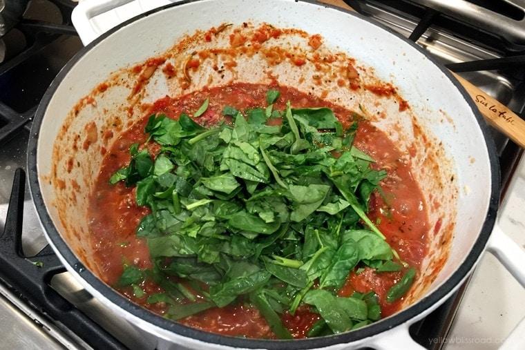 Lasagna Meat Sauce with Veggies