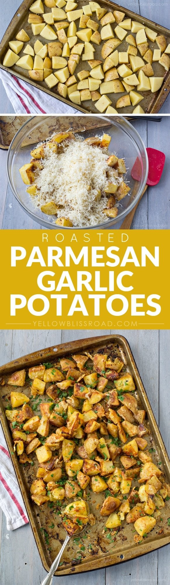 Roasted Parmesan and Garlic Potatoes