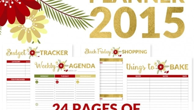 How to Organize Your Holidays - All NEW Christmas Planner