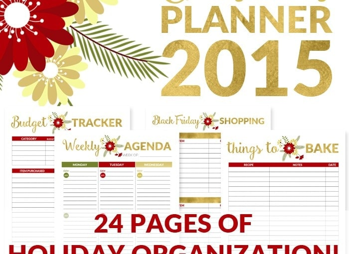 How to Organize Your Holidays – All NEW Christmas Planner