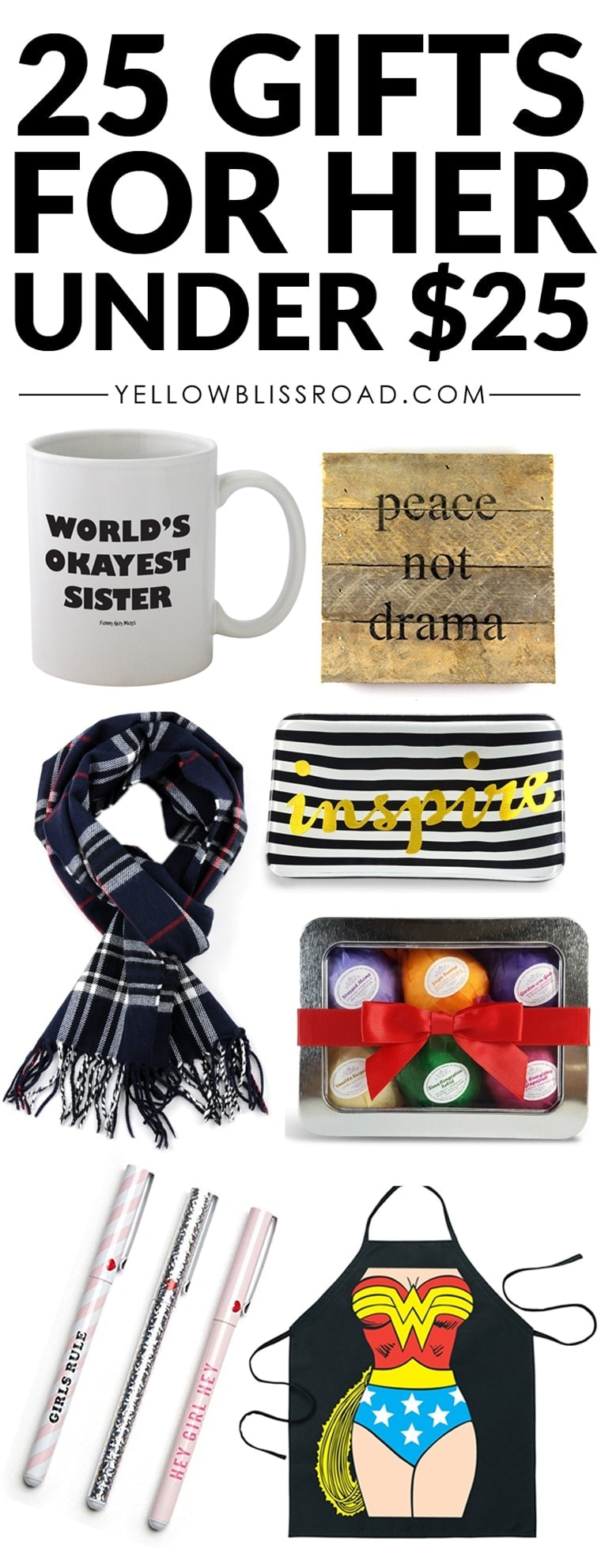 25 best Christmas gifts for moms, aunts, sisters or friends under $25