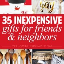 35 Gift Ideas for Neighbors and Friends