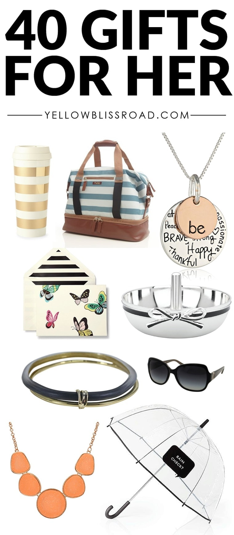 40 Fabulous Gift Ideas for Her for Every Budget