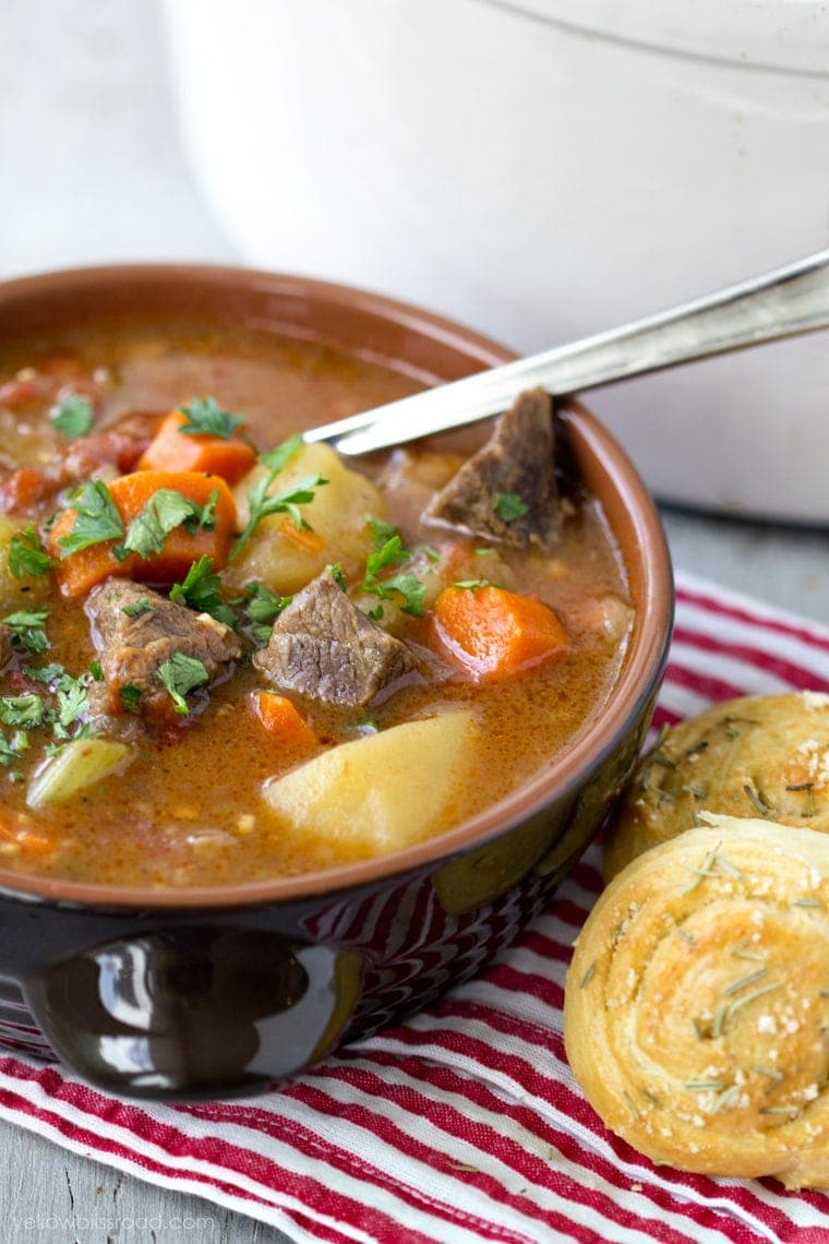 Easy Stovetop Beef Stew Recipe