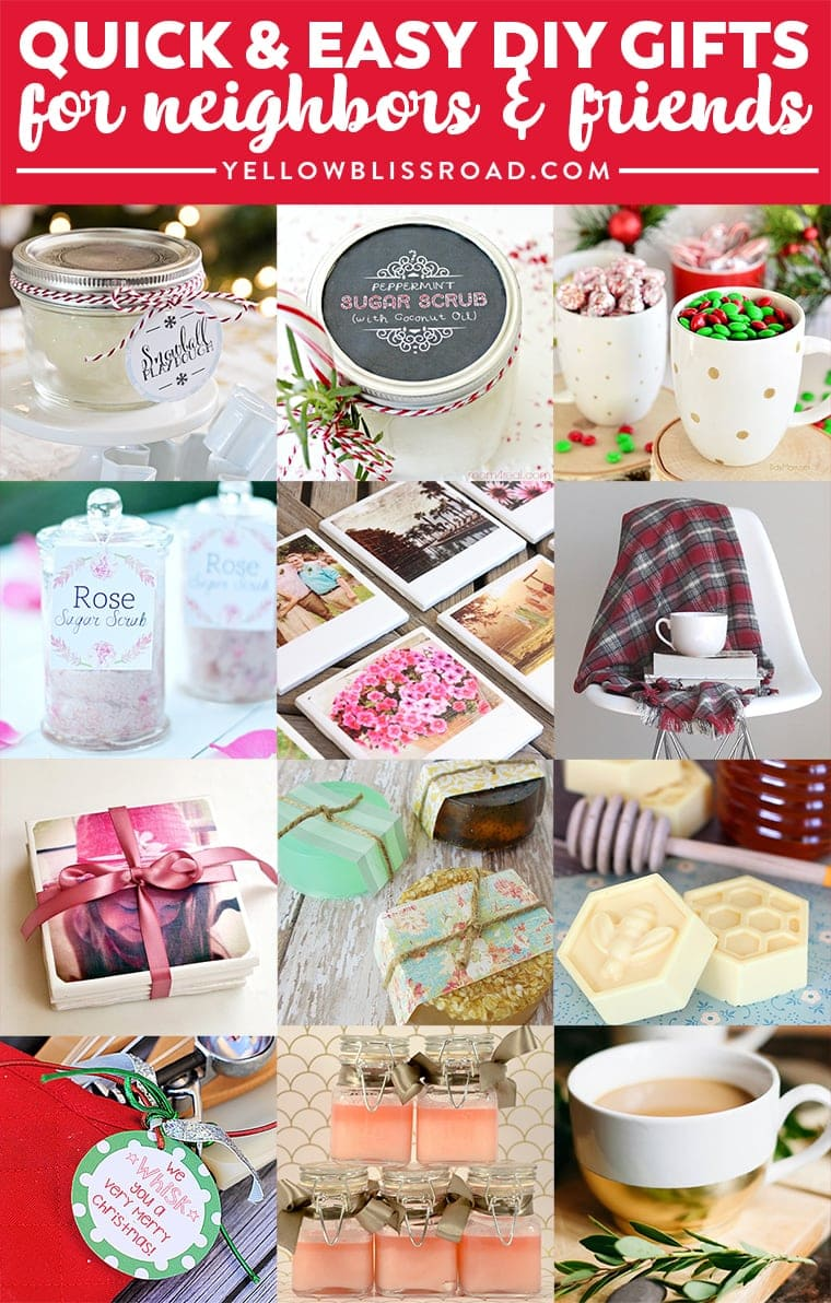 Budget Gifts Ideas for Friends and Neighbors (Homemade ...
