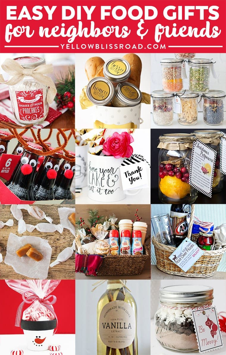 Budget Gifts Ideas For Friends And Neighbors Homemade Christmas