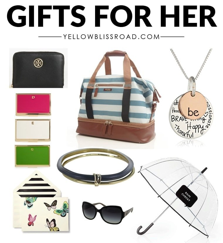 Christmas Gift Ideas For Her Gifts For Women Yellowblissroadcom