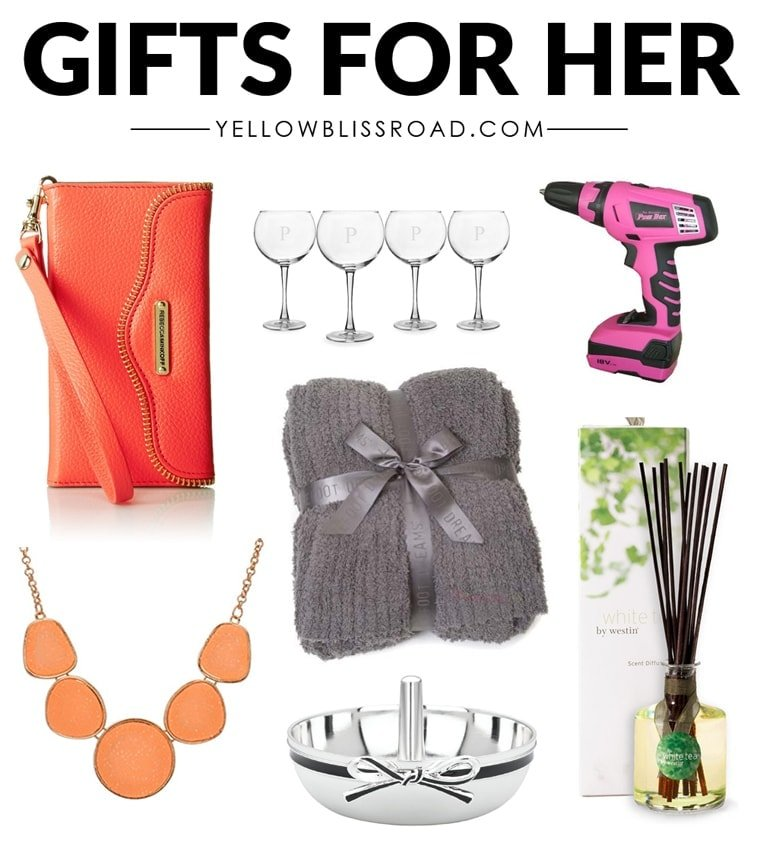 Christmas Gift Ideas For Her To Fit Every Budget Yellow: best xmas gifts for her