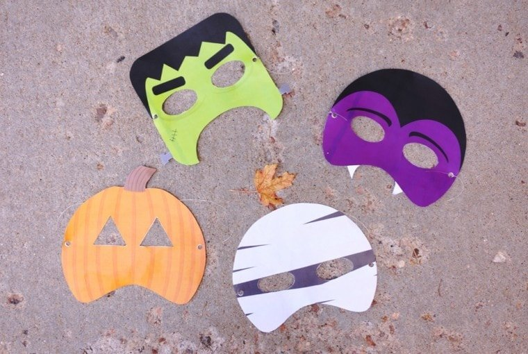 Monster Mask Free Halloween Printables