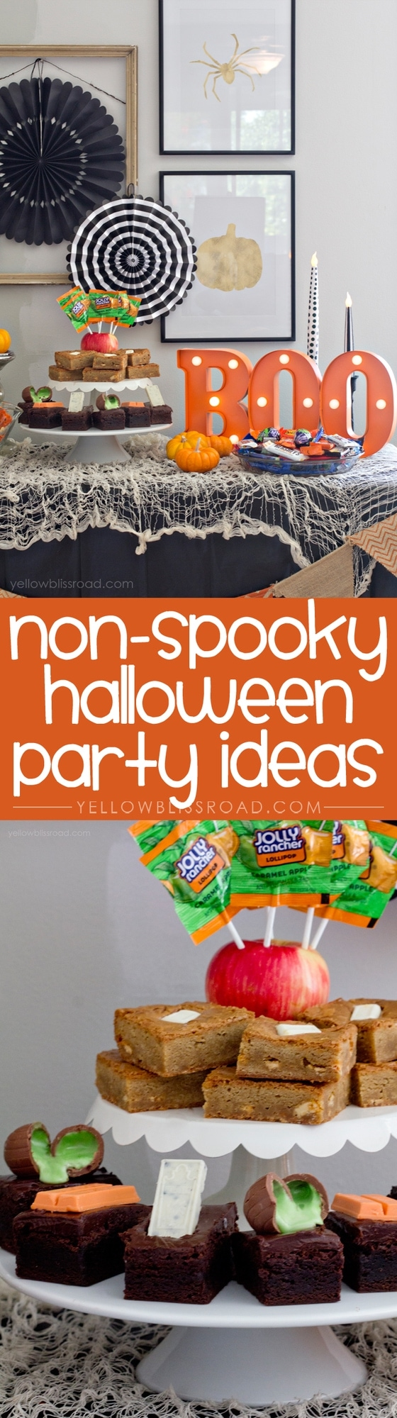 Non-Spooky Hallloween Party Ideas