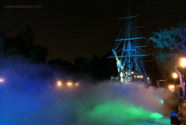 Rivers of America in the fog