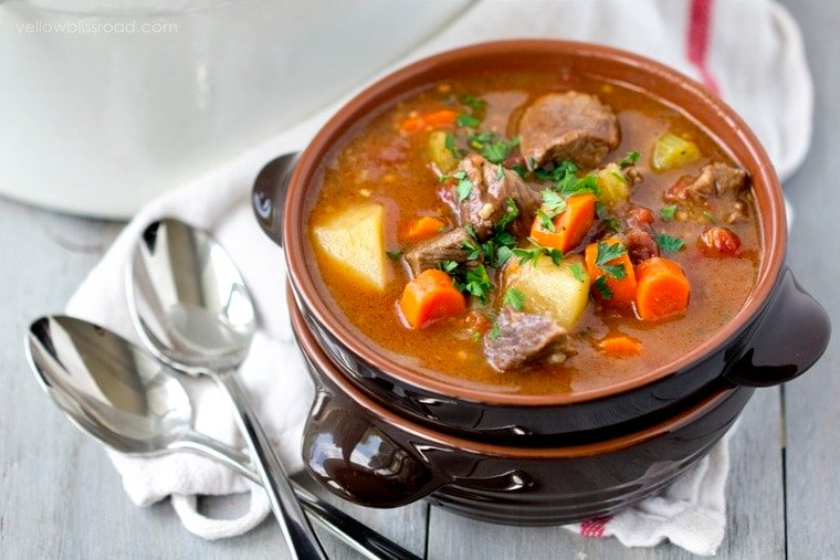 Stovetop Beef Stew Recipe